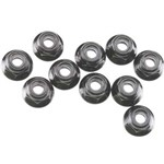 Nylon Locknut M4 Black (10)