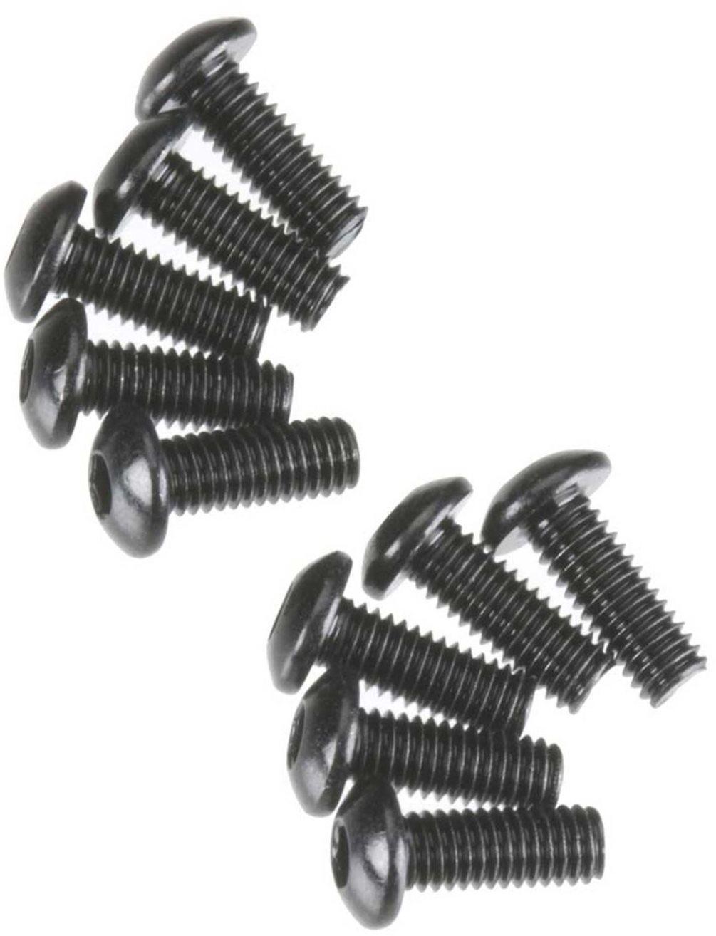 Axial Hex Socket Button Head M3x8mm Black Oxide (10)