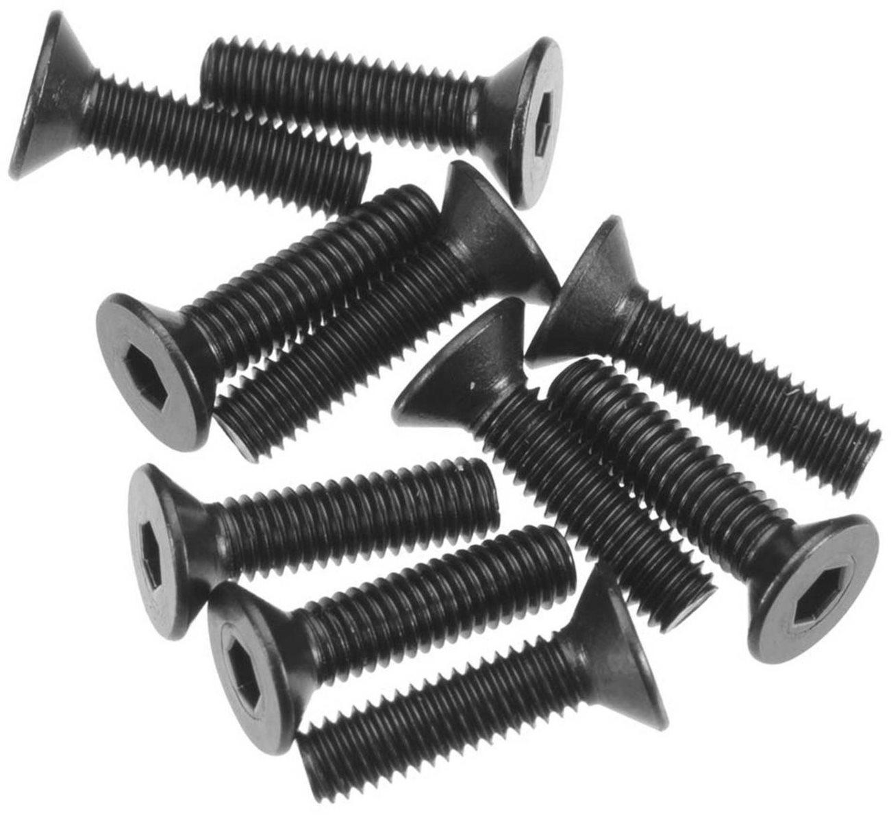 Axial Hex Socket Flat Head M3x12mm Black (10)