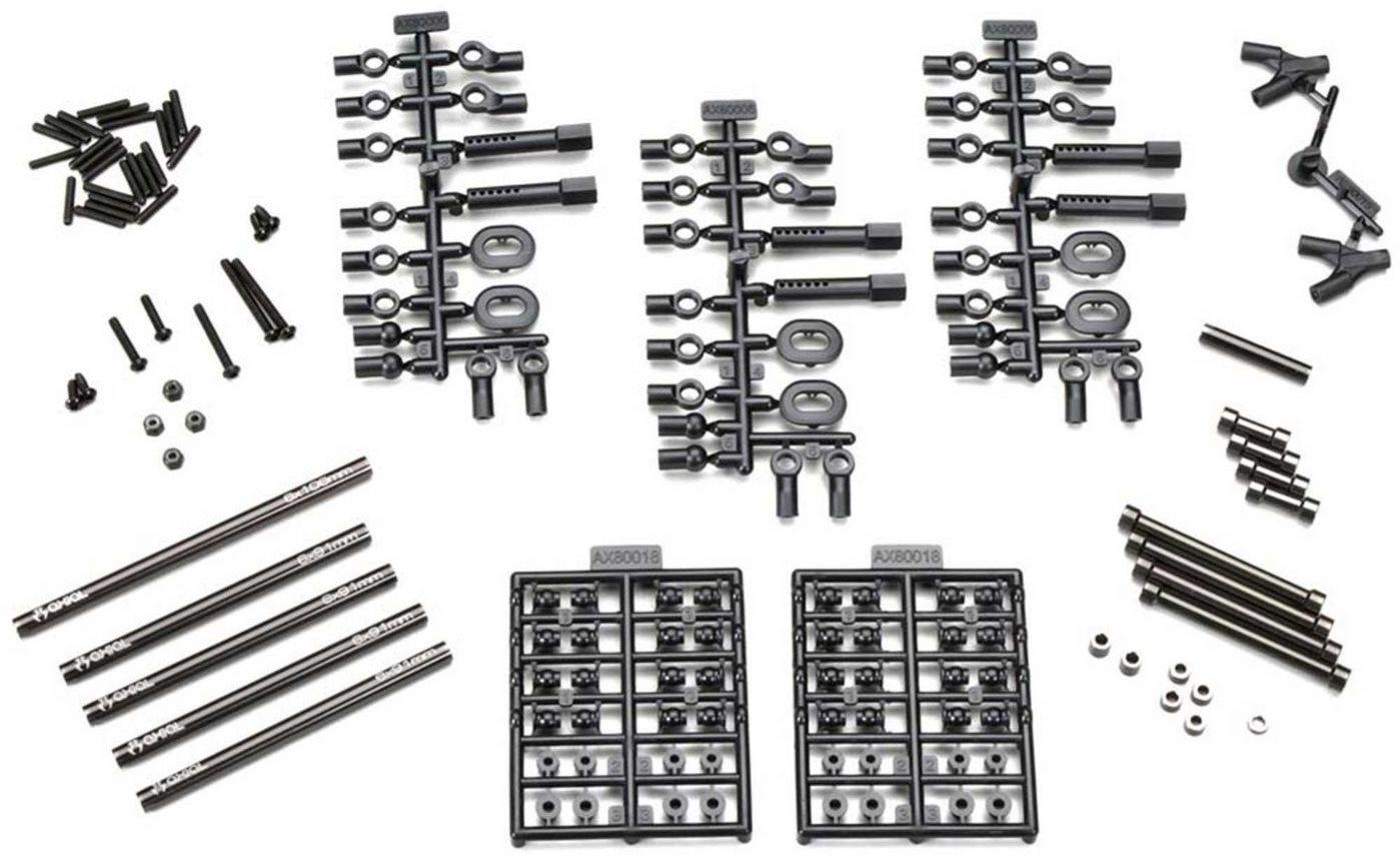 Axial Aluminum Wheelbase Links Set 11.4  (290mm)