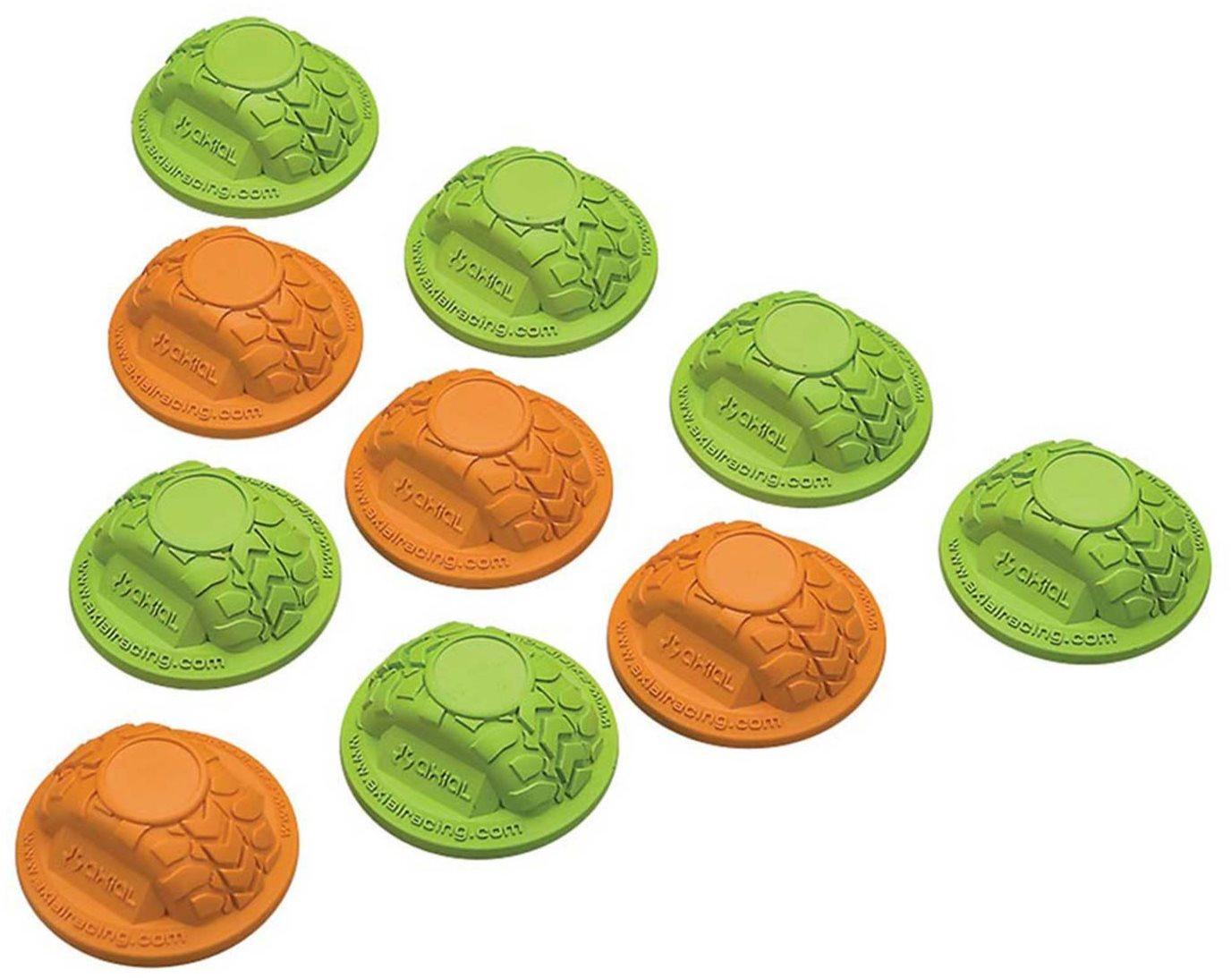 Axial Gate Marker Set Green/Orange (10)
