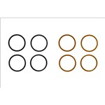 Kyosho Kyosho 10x12mm Shim Set (0.1mm/0.2mm) (8) (ZX-5)