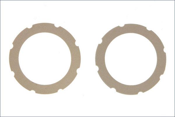 Kyosho Kyosho Dual Slipper Sheet (White) (2)