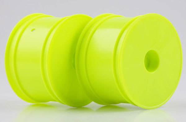 Kyosho Kyosho 12mm Hex 56mm Flush Rear Wheels (RB6/ZX6) (2) (Yellow)