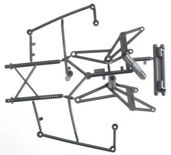 HPI Bumper/Roll Bar Set Wheely King