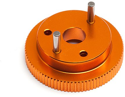 HPI Flywheel (2 Shoe), Trophy 3.5/4.6 Series (Orange)