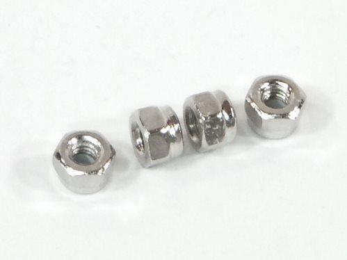 HPI Lock Nut, M2.6, (4Pcs)