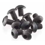 HPI Button Head Screw M3x4mm Hex Socket (10)