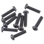 Button Head Screw M2.5x10mm Hex Socket (10)