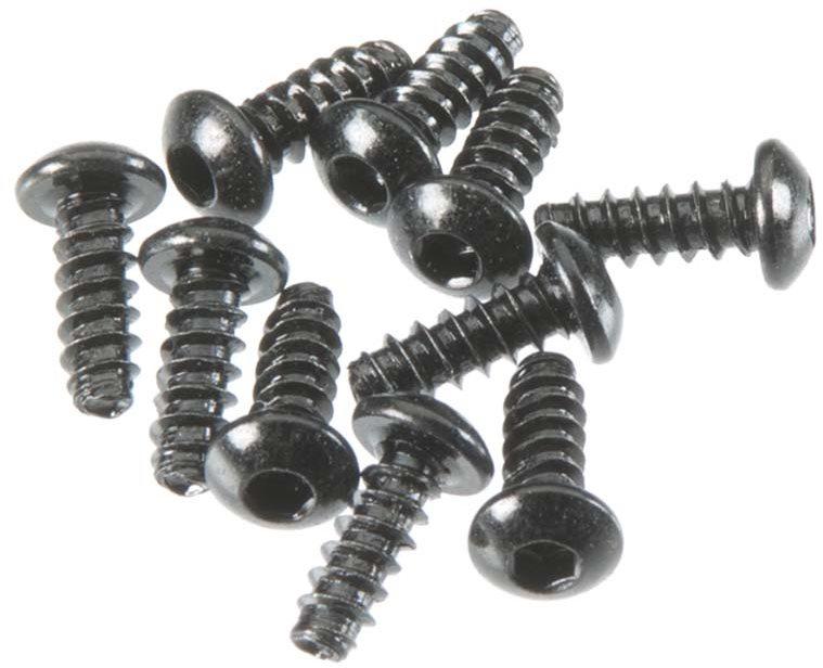 HPI TP Button Head Screw M3x8mm Hex Socket (10)