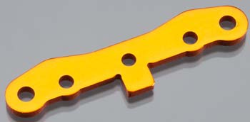 HPI Front Susp Holder 6061 Trophy Buggy Orange
