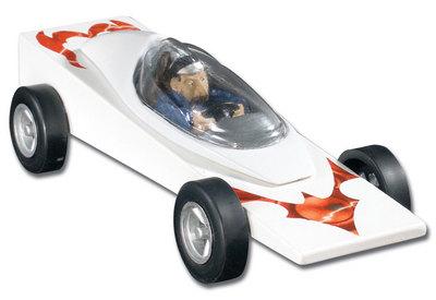 Pinecar Baron Von Gofast Cockpit/Driver