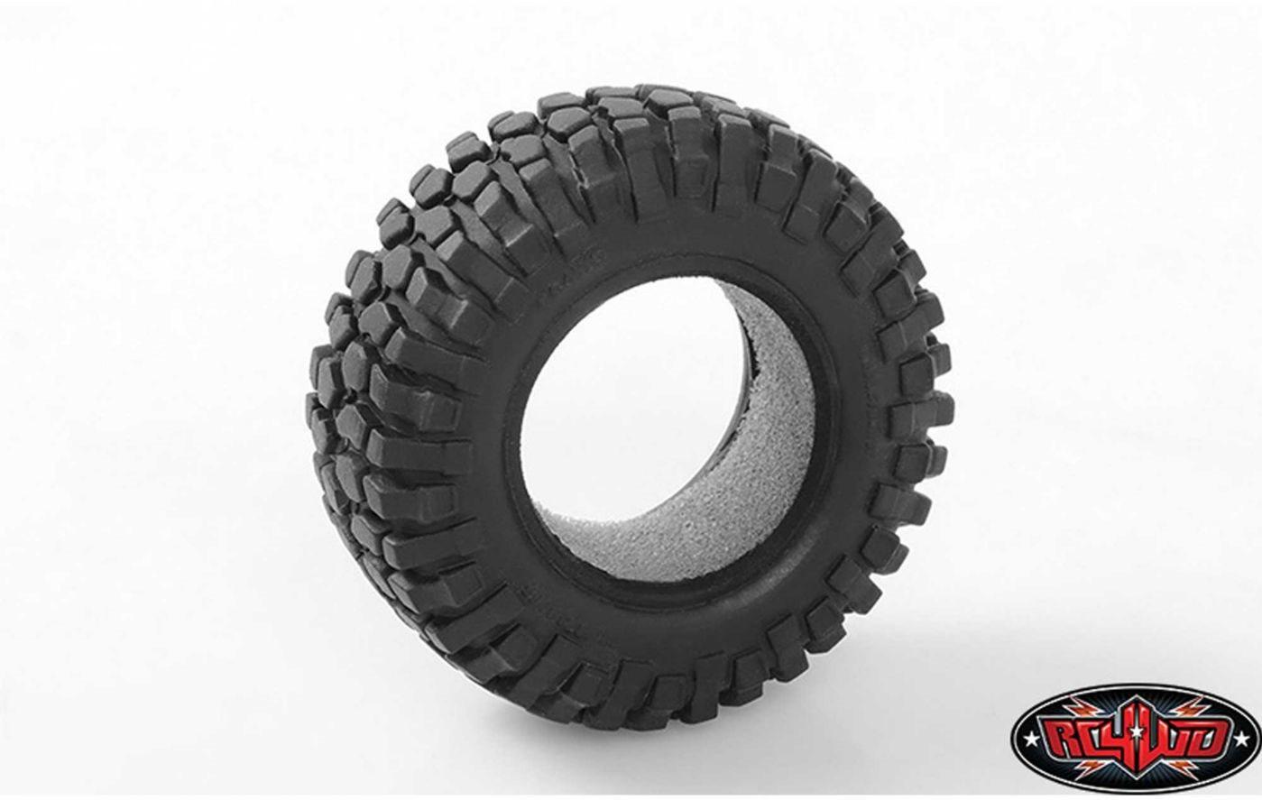 RC 4WD Micro Crawler Rock Crusher X/T Tires (2)