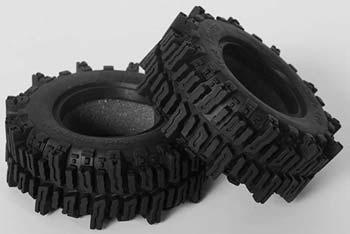 """RC 4WD Mud Slingers 1.9\"""" Tires (1x Pair)"""