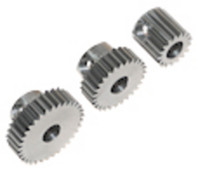 Robinson Racing Pinion Gear Hard 48P Machined 19T 5m/m Bore
