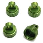 ST Racing Concepts Cnc Machined Aluminum Upper Shock Caps-Traxxas, 4Pc, Green