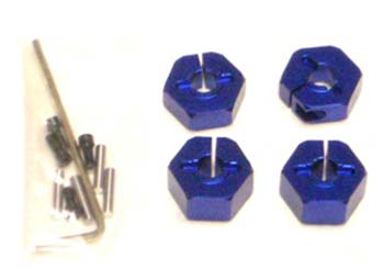 ST Racing Concepts Alum Wheel Hex Adapters w/Hardware 14mm (4)