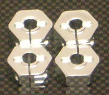 ST Racing Concepts Alum Wheel Hex Adapters w/Hardware 14mm (4)