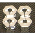 Alum Wheel Hex Adapters w/Hardware 14mm (4)
