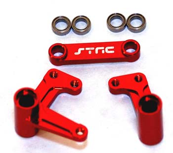 ST Racing Concepts Alum Steering Bellcrank System w/Bearings Rust