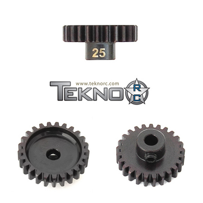 Tekno RC 4185 Pinion Gear 25T M5(MOD1/5mm Bore/M5 Set Screw)