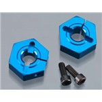 Associated Aluminum Clamping Wheel Hex 12mm Front Buggy (2)