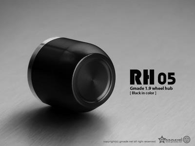 Gmade 1.9 Rh05 Wheel Hubs (Black) (4)
