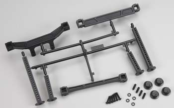 Proline Extended Fr/Re Body Mounts Slash 2WD