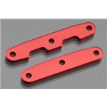 Traxxas Bulkhead Tie Bars Front & Rear Aluminum (Red-Anodized)