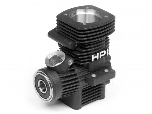 HPI Crank Case, Black, T3.0, Nitro Star