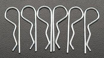 Associated Hood Pins (6)