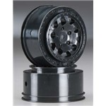 KMC Hex Wheels Black (2)