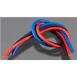 TQ Wire Products 10 Gauge Wire 1' Brushed Kit Black/Red/Blue