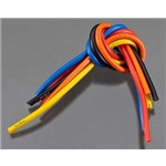 10 Gauge Wire 1' BL 5-Wire Kit Blck/Red/Blu/Ylw/Or