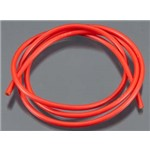 13 Gauge Wire 3' Red
