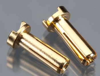 TQ Wire Products 14mm 4mm Bullet Male Connectors (pr)