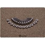 Gmade Stainless Steel VR01 Beadlock Hex Bolt & Nut Set (12)