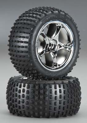 Traxxas Tires/Wheels Assembled