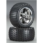 Traxxas Tires/Wheels Assembled