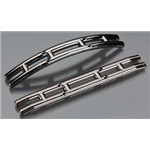 Traxxas Bumpers, Black Chrome Front & Rear