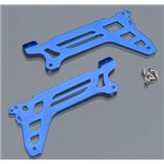Traxxas Main Frame/Side Plate/Outer Blue DR-1 (2)