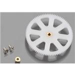 Traxxas Main Gear Lower/Bushing/Screws DR-1 (2)