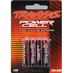 Traxxas Battery Power Cell AAA Alkaline (4)