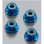 Serrated Wheel Locknuts 4mm 2WD/4WD Slash