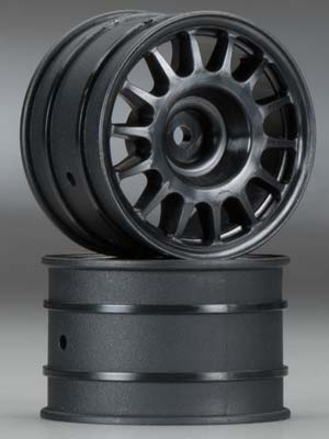 HPI WR8 Rally Off-Rd Wheel Black 48x33mm (2)