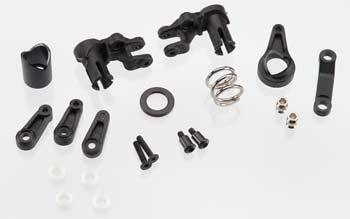 Traxxas Steering Bellcranks/Servo Saver, Spring, Horn, Retainer