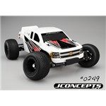 J Concepts Illuzion 2012 Chevy 1500 Rustler XL-5 Body Clear
