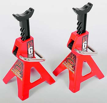 RC 4WD Chubby 6 Ton Scale Jack Stands RC Use Only