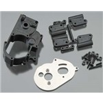 Hybrid Gearbox Housing/Re Mounts Blk