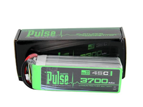 Pulse Lipo 6S 22.2V 3700mAh 45C